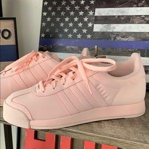 Brand new never worn ADIDAS blush pink tennis shoe